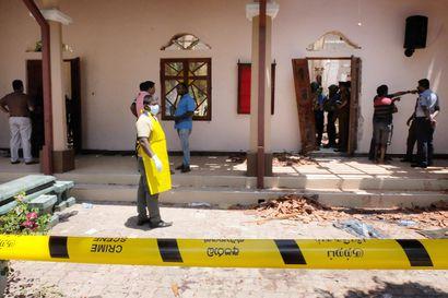 Sri Lankan pommitusten uhriluku nousee yhä – kahdeksan tekijää tunnistettu, noin 60 pidätetty