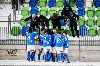 RoPS  kukisti TPS:n 1–0 ja kampesi itsensä liigakarsintaan – Simo Roiha puski kotijoukkueen voittomaalin