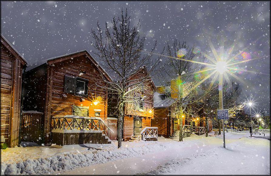 """Lukijoiden suosikki. Reija Satokangas otti """"Torinrannan keskitalven idylli"""" -kuvan 27. joulukuuta viiden aikaan illansuussa."""