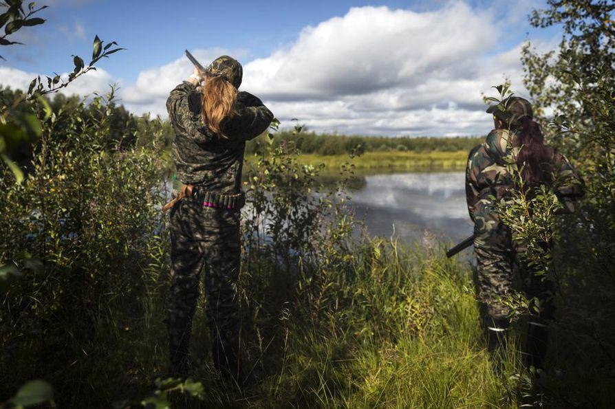 Metsästäjien asiat olivat pääsääntöisesti kunnossa. Arkistokuva.
