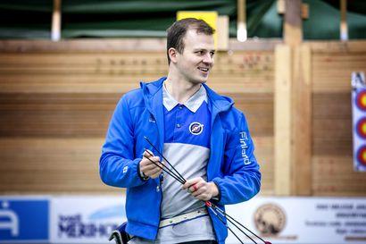 Antti Vikström sivusi Jari Lipposen 25 vuotta vanhaa Suomen ennätystä, sen rikkominen jäi millimetrin päähän