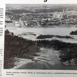 Vuosien takaa: Pohjoisten ranta-alueiden kaavaluonnos ihastutti ja vihastutti jo 30 vuotta sitten