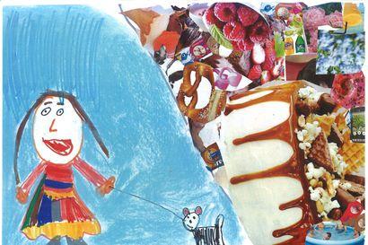Mikä tekee lapset onnelliseksi: Katso onnea tulvivat kuvataidekisan kuvat