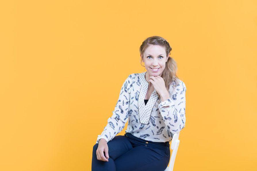 Heidi Sarjanoja.