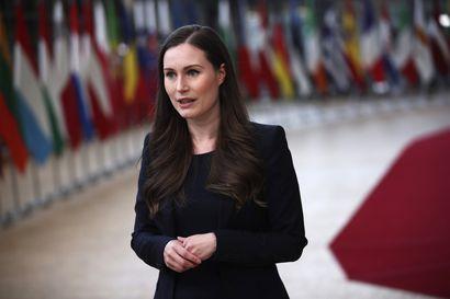 Pääministeri Sanna Marin kertoo tiedotustilaisuudessa EU-elvytyspaketin neuvottelutuloksesta – katso suora lähetys