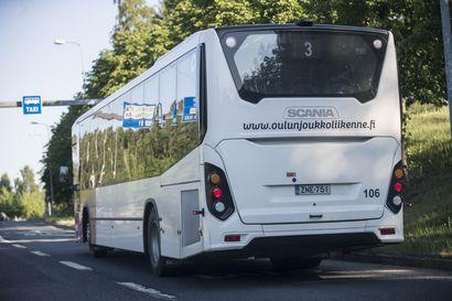 Oulun Joukkoliikenne Bussit Kartalla