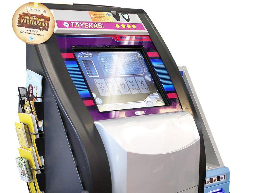 Kauppojen ja kioskien peliautomaattien määrää aiotaan vähentää 3000:lla.