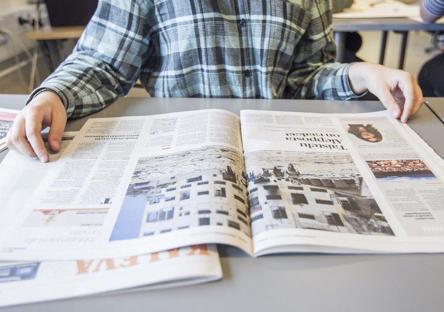 Lukutaito on edelleen hyvää suomalaisnuorilla, mutta se on kuitenkin heikentynyt koko ajan. Tuoreen Pisa-tutkimuksen mukaan heikon lukutaidon omaavia poikia oli 17 prosenttia. Kuvituskuva.