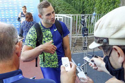 """Johannes Vetter Turun tähti: 91,49 - """"Hillitsin vauhtia ja heitin rennosti"""""""