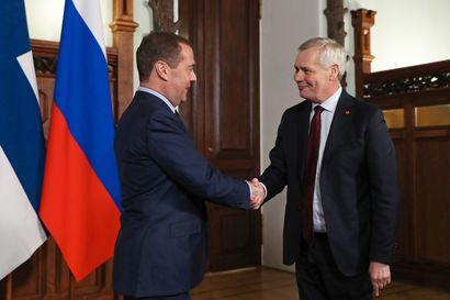 Rinne tapasi Medvedevin Moskovassa – Suomen ja Venäjän välit ovat niin hyvät, kuin ne näissä olosuhteissa voivat olla