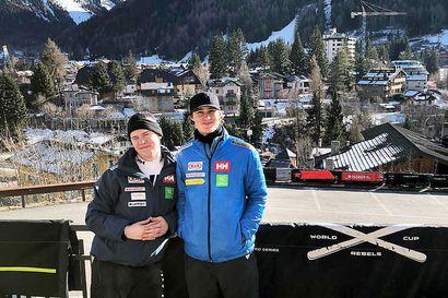 Rovaniemeläiskaksikko hakee Keski-Euroopasta vauhtia Norjan Narvikissa pidettäviin nuorten MM-alppikisoihin
