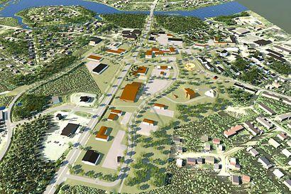 Uutta keskustaa Kuusamontien varteen – jäähallin rakentamisen aloitus mahdollista jo ensi keväänä