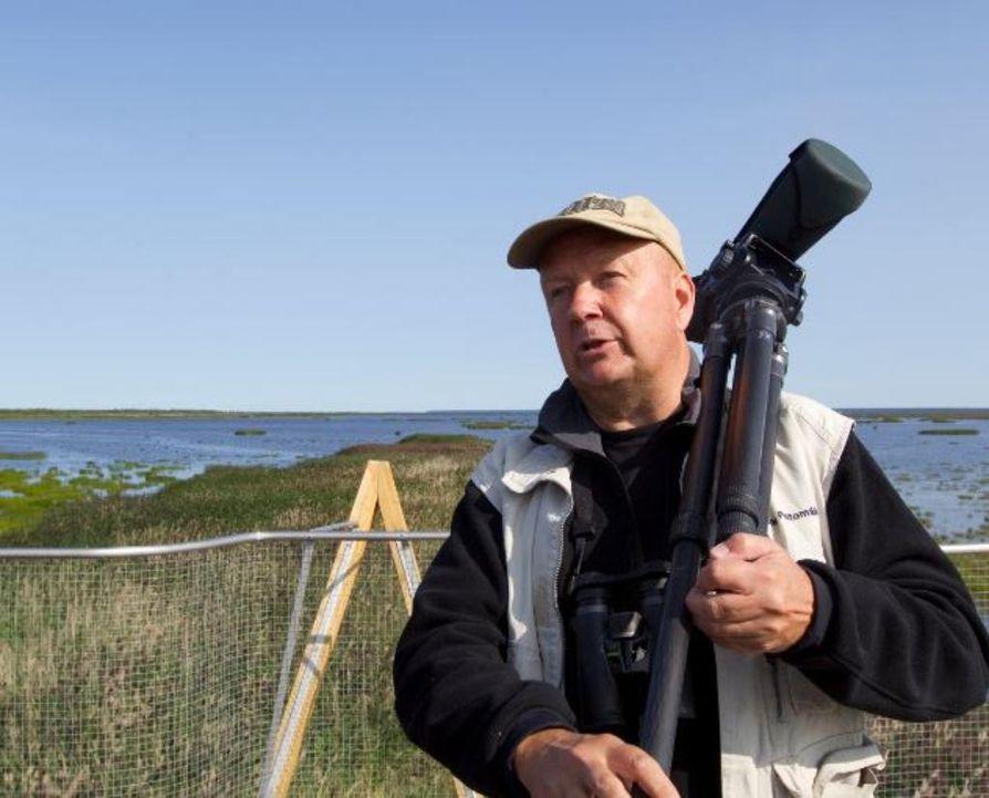 Jari Peltomäki on kuvannut vuosikymmenien ajan erityisesti lintuja.