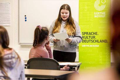 Ääneenlukukisa tuo esiin kielten hyötyjä – Kuuntele kuinka kauniisti saksa soljuu, kun rovaniemeläisoppilaat puhuvat kieltä lähes kympin arvoisesti