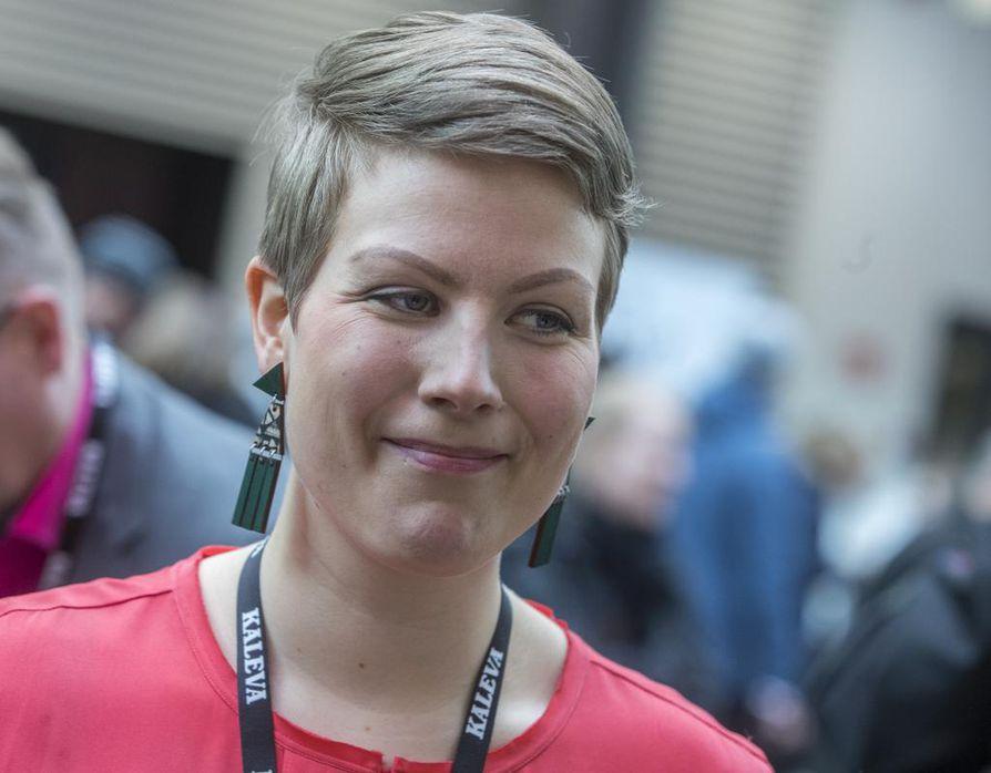 Vihreiden Jenni Pitko esitti, että tilapäistä valiokuntaa ei perusteta, koska sille ei ole perusteita. Arkistokuva.