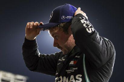 Bottas ajoi erittäin niukasti paalupaikalle - Hamiltonia tuuraava Russell pani suomalaiskuskille tiukasti kampoihin