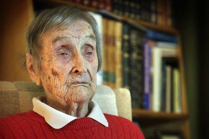 Suomen vanhin lotta  Salme Haltia on kuollut 109 vuoden iässä