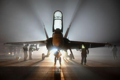 Hornetien melua iltamyöhään –Ilmavoimien harjoituksesta voi kuulua häiriötä aina Ivalosta Perämerelle