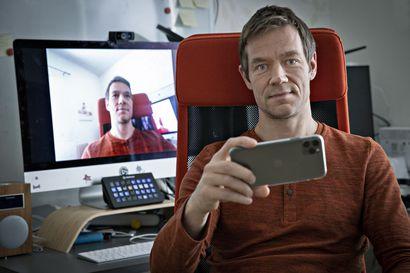 Oululainen yksinyrittäjä sai mahtavan potin, kun kännykkäsovelluksesta tuli etätyöbuumin myötä yllätyshitti