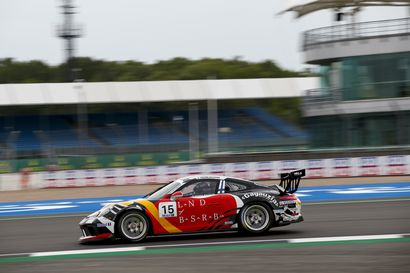 Jukka Honkavuori aika-ajon 13. Porsche Supercupissa