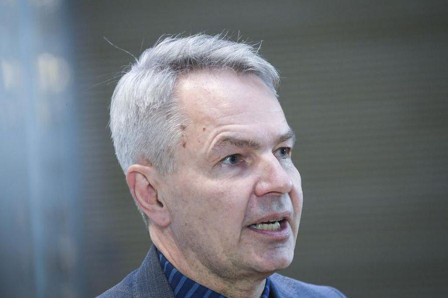 Ulkoministeri Pekka Haavisto käyttää nykyään ulkoministeriön sähköpostiosoitetta.