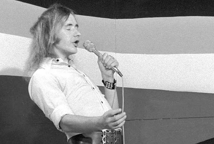 Rauli Badding Somerjoki oli tuttu näky lavoilla 1970-luvulla.