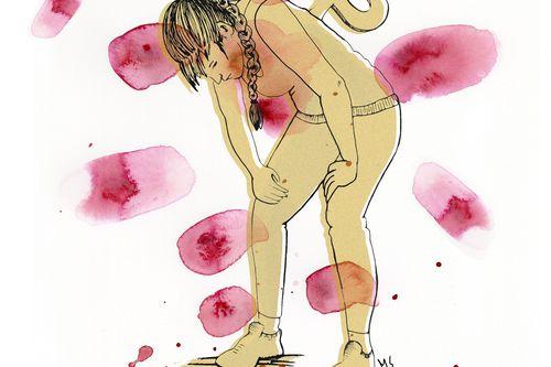 musta vaaleanpunainen pillua huulet