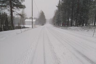 """""""Jos jollekin ihmiselle kuuluu lumenajo, niin täytyy olla valmiina tulevan vuorokauden aikana"""" – Lappiin leviää perjantain aikana laaja lumisadealue"""