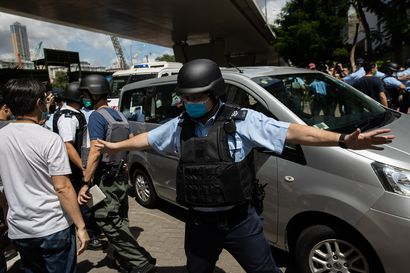 Hongkongissa oikeus ei päästänyt ensimmäistä uuden turvallisuuslain perusteella syytettyä ihmistä vapaaksi