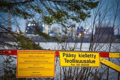 Täällä ei saa kulkea – tehdasalueiden ympäristöstä löytyy kiellettyjä alueita