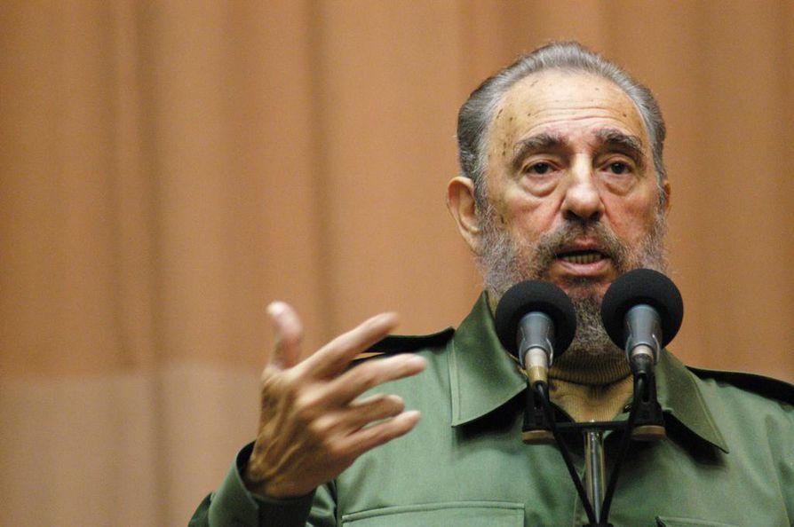 Fidel Castro menehtyi 90 vuoden iässä.