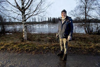 Jorma Röning haluaa Pyhäjoen veden taas kirkkaaksi