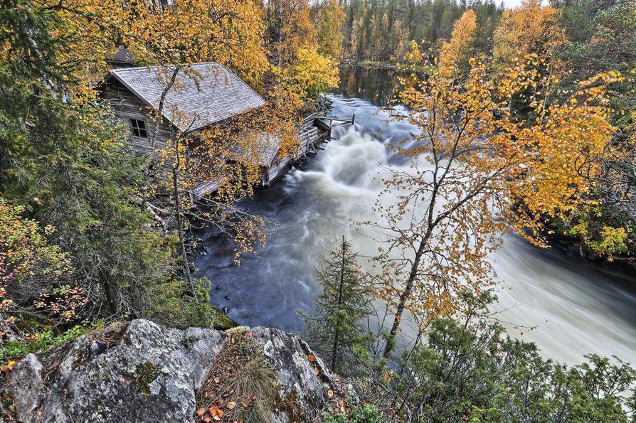 Karhunkierroksen maisemissa Koillismaalla on harvinaisen monipuoliset maisemat.