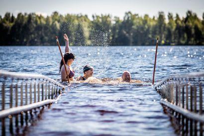 Viikon kuva: Esteetöntä uimista
