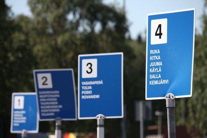 Pohjolan Matkojen pääte- ja lähtöpysäkki siirtyy Ervastin aukiolle syyskuussa – Osa busseista lähtee edelleen linja-autoaasemalta, osa sekä - että.