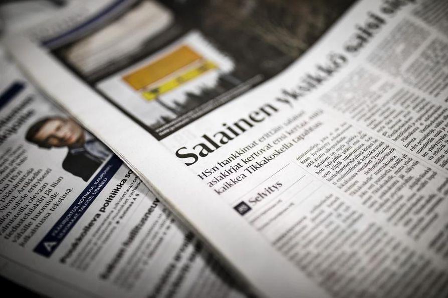 Helsingin Sanomien Viestikoekeskusta koskeva artikkeli julkaistiin lauantaina 16. joulukuuta.