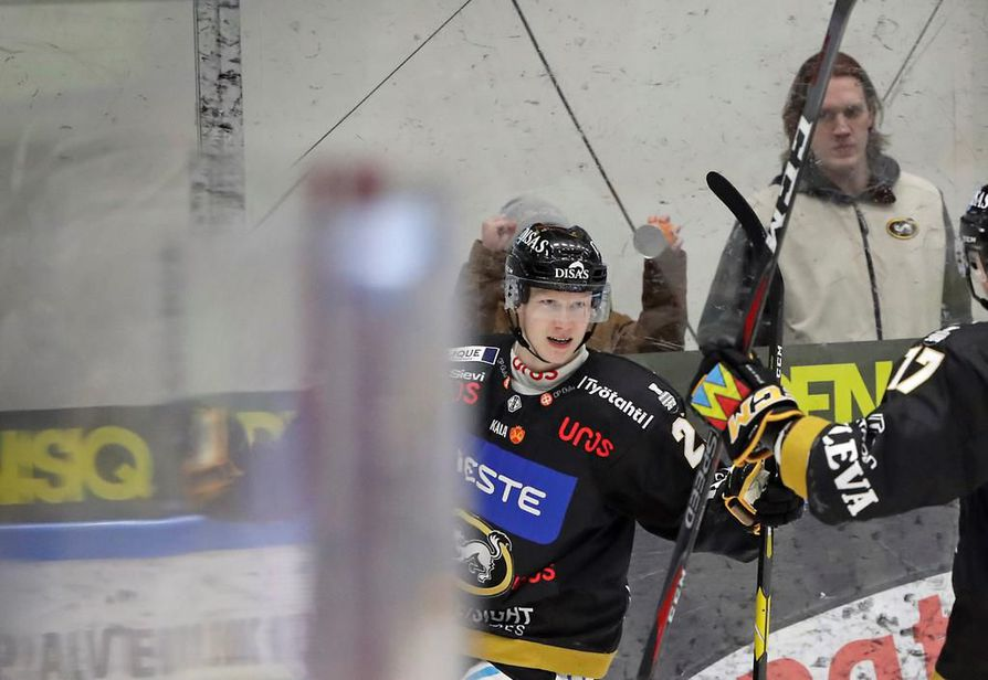 Tino Metsävainio pelaa loppukauden unkarilaisjoukkueessa. Arkistokuva.