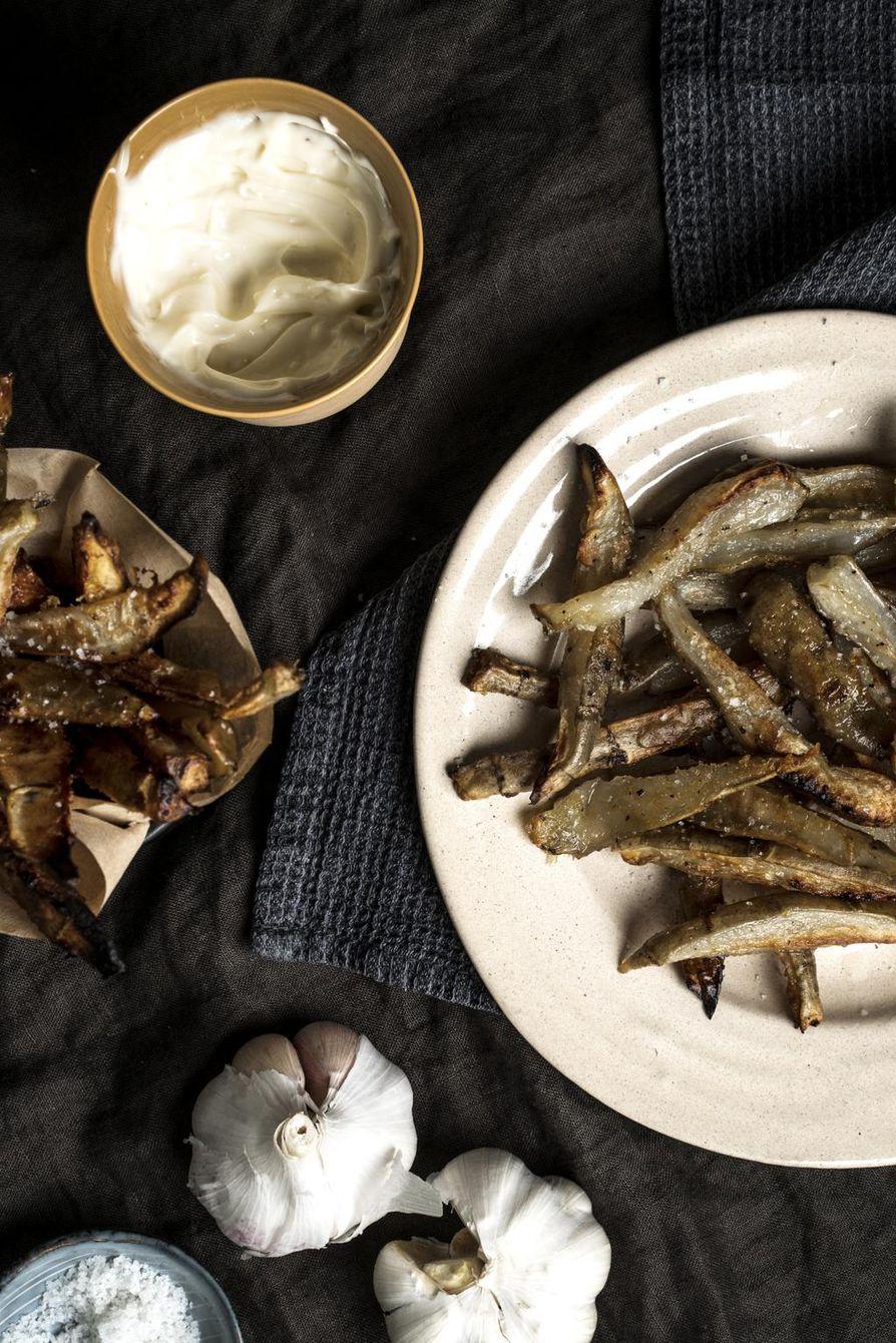 Maa-artisokkaranskalaiset kannattaa syödä heti kuumina.