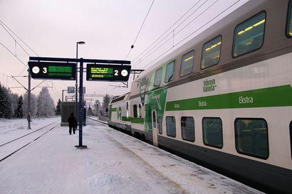 Nopeammat yhteydet Oulun ja Helsingin välillä nopeuttavat joitakin Rovaniemi-Helsinki -yhteyksiä jopa tunnilla
