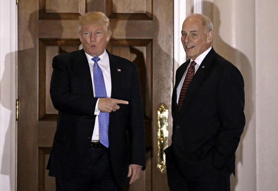 Amerikkalaismedian mukaan Donald Trump olisi nimennyt John Kellyn johtamaan kotimaan turvallisuudesta vastaavaa virastoa.