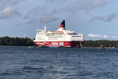 """Otkes: Karille ajaneen Viking Linen Amorellan reitiltä löytyi """"kovaa luonnonmateriaalia"""" – Väylävirasto selvittää reitin turvallisuutta"""