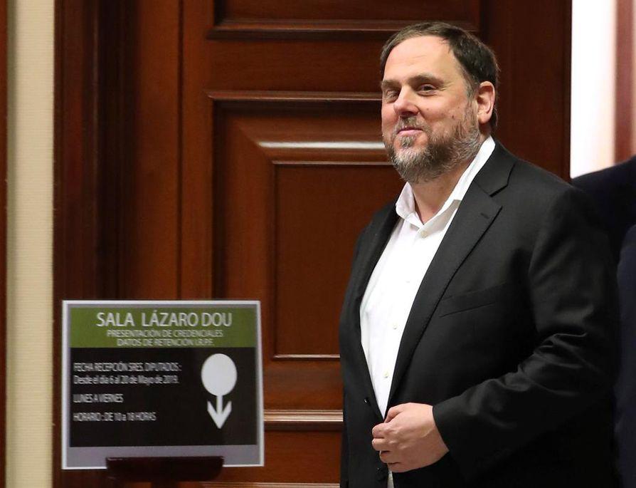 Katalonian entinen varajohtaja Oriol Junqueras sai 13 vuoden vankeustuomion.