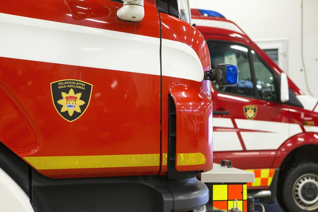 Omakotitalo tuhoutui tulipalossa Oulun Kontionkankaalla – palosta ei koitunut henkilövahinkoja