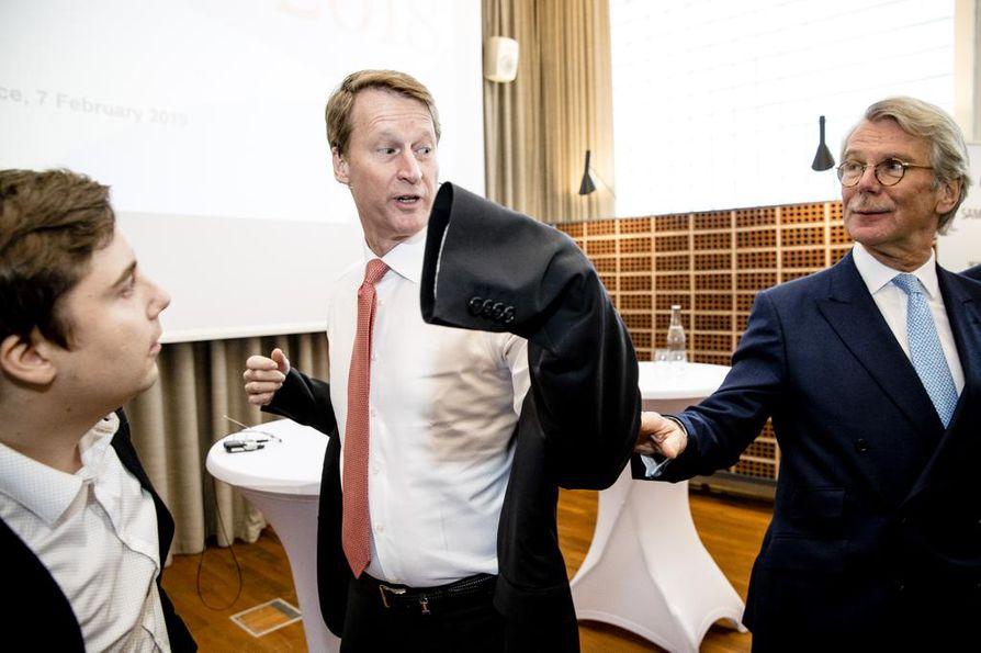 Sampo-konsernin toimitusjohtajana ensi vuoden alussa aloittava Torbjörn Magnusson nousee tänä keväänä Nordean hallituksen puheenjohtajaksi Björn Wahlroosin tilalle.s