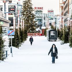 Rovaniemellä oli lokakuussa kolmanneksen vähemmän yöpymisiä kuin viime vuonna vastaavaan aikaan