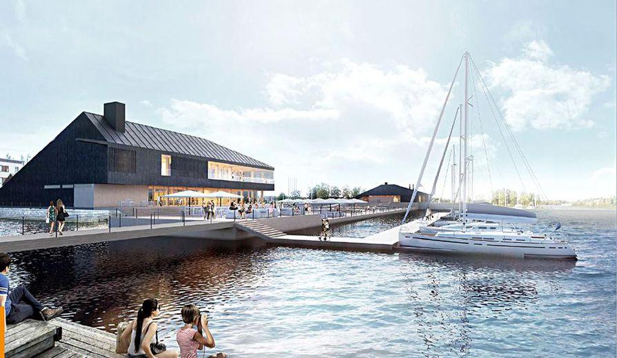 Kiikeliin tulevan Allas Sea Poolin kaupungin osuudeksi tulevat muun muassa torinrannasta allasalueelle johtavan kävelysillan sekä uusien venelaiturien rakentaminen.