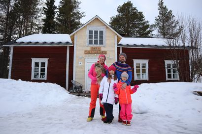 Sodankylän kunnan palkkaama tubettaja jää perheineen asumaan Lappiin – somerealitysarjasta tuli menestys