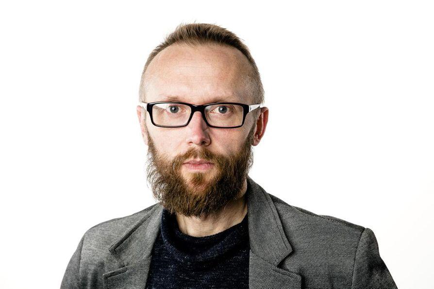 Kirjoittaja Jussi Orell.