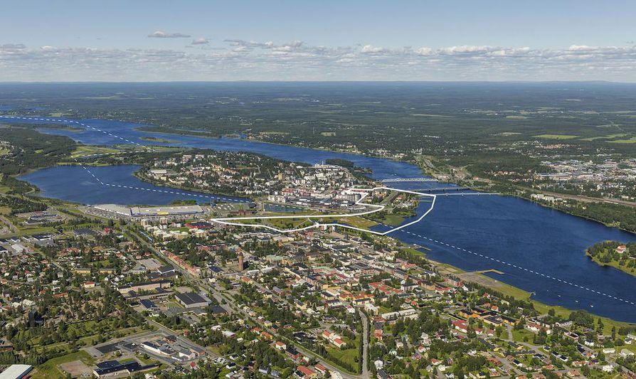 Tornio-Haaparannan suunnittelualue
