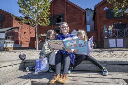 Joulukalenterista lastenkirjaksi – Kuvittaja Henna Ryynänen saa Myry-kirjasarjaansa inspiraatiota perhearjestaan